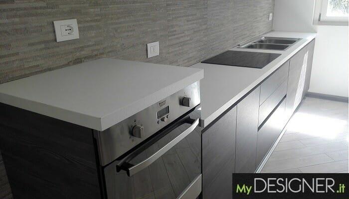 Cucina con gole alluminio Cesano Maderno