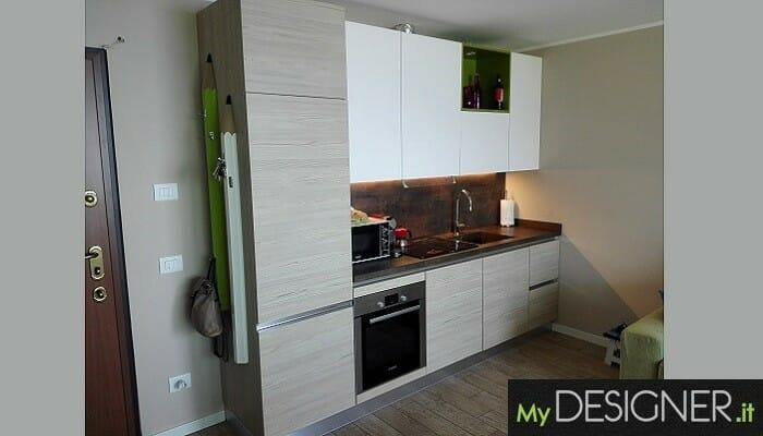 Cucina moderna per casa vacanza Perledo